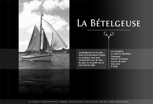 betelgeuse-site-web-internet-noir-et-blanc-croisiere-morbihan-greement-webdesign-bretagne-awen-studio