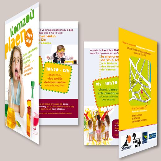 dihun-livret-flyer-depliant-plaquette-deux-volets-petits-debrouillards-breton-bilingue-graphisme-enfants-identite-visuelle-awenstudio-awen-studio copie