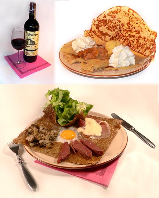 art-et-maniere-packshot-produit-photo-galette-landaise-crepe-tatin-vin-rouge-verre