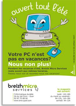 bms-flyer-illustration-ouvert-tout-ete-breizh-micro-services-informatique-depannage-morbihan-guer