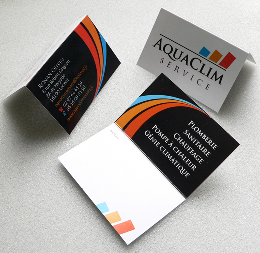 Identit Visuelle Aquaclim Service Awen Studio