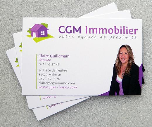 Identite Visuelle De CGM Immobilier Awen Studio